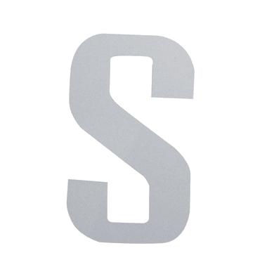 Lettera S adesivo, 15 x 10 cm