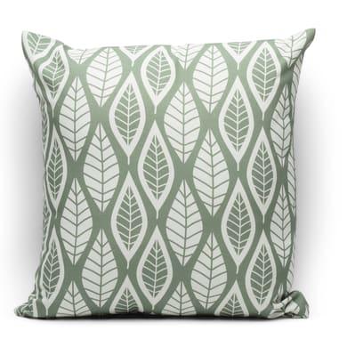 Fodera per cuscino Foglia verde 40x40 cm