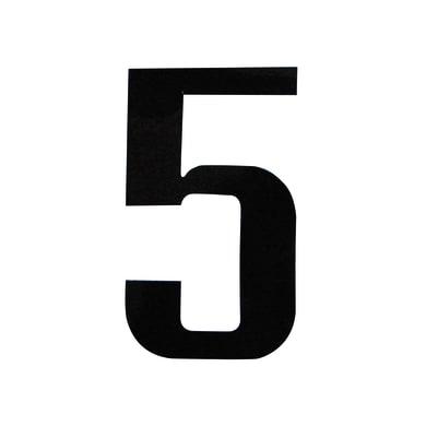 Numero 5 adesivo, 7.5 x 5 cm