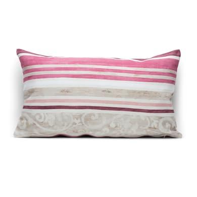 Fodera per cuscino Kilam rosa 50x30 cm