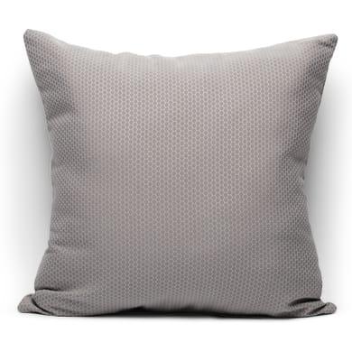 Fodera per cuscino Nido d'ape grigio 60x60 cm