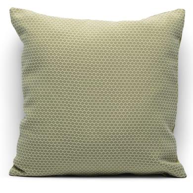 Fodera per cuscino Nido d'ape verde 40x40 cm