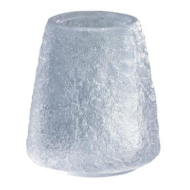 Bicchiere porta spazzolini Irina in resina bianco