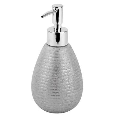 Dispenser sapone Iris argento