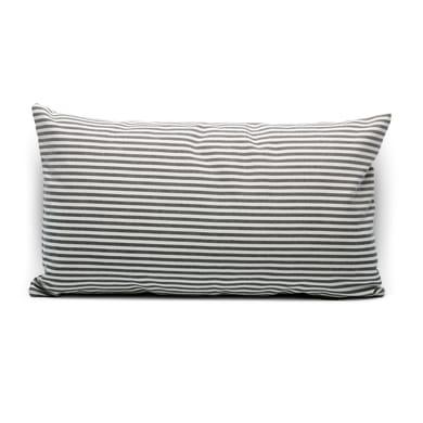 Fodera per cuscino Riga grigio 50x30 cm