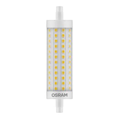 Lampadina LED, R7S, 118 mm, Lineare, Trasparente, Luce calda, 12.5W=1521LM (equiv 100 W), 300° , OSRAM