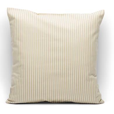 Fodera per cuscino Riga ecru 40x40 cm