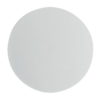 Applique design Eclisse LED integrato bianco, in acciaio inossidabile,  D. 20 cm