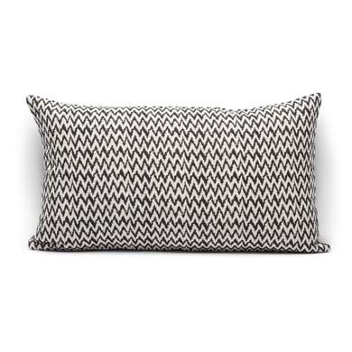 Fodera per cuscino INSPIRE Spiga nero 50x30 cm