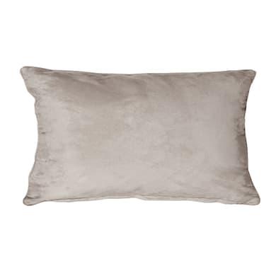 Fodera per cuscino Suedine beige 50x30 cm