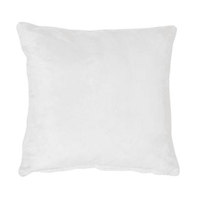 Fodera per cuscino Suedine bianco 50x30 cm