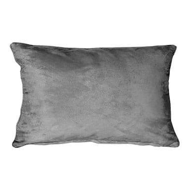 Fodera per cuscino Suedine grigio 50x30 cm