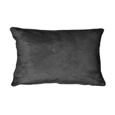 Fodera per cuscino Suedine nero 50x30 cm