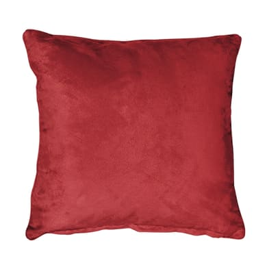 Fodera per cuscino Suedine rosso 40x40 cm