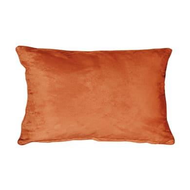 Fodera per cuscino Suedine arancione 50x30 cm