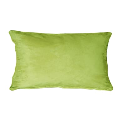 Fodera per cuscino Suedine verde 50x30 cm
