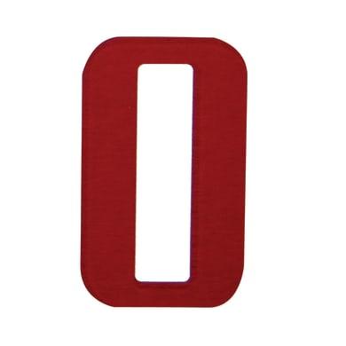 Lettera O adesivo, 3 x 2 cm