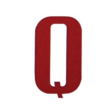 Lettera Q adesivo, 10 x 6 cm