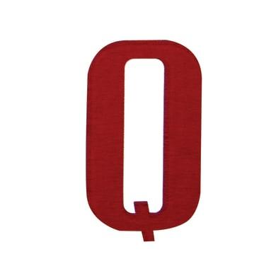 Lettera Q adesivo, 5 x 3.5 cm