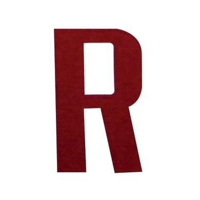 Lettera R adesivo, 3 x
