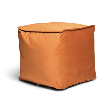 Pouf Viki arancio / ramato 45 x 45cm