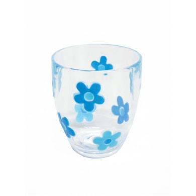 Bicchiere porta spazzolini Milly in plastica trasparente