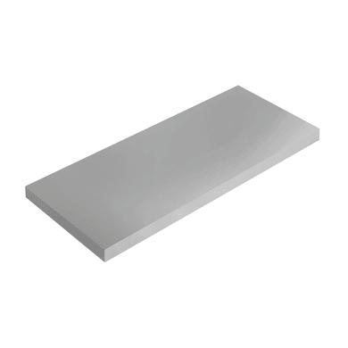 Mensola Spaceo L 36 x P 15.5 cm, Sp 1.8 cm grigio