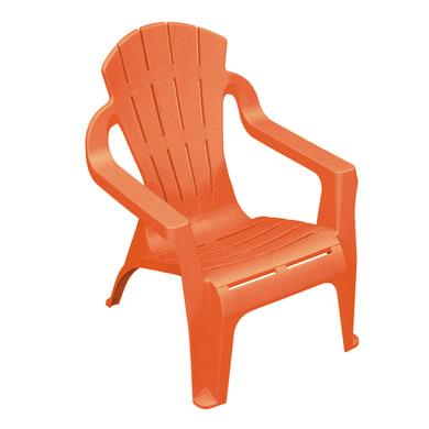 Sedia Mini selva per bambini colore arancione