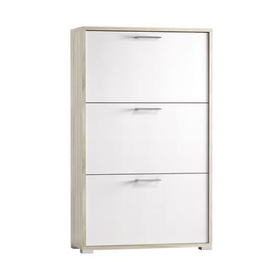 Scarpiera L 67 x H 112 x Sp 28 cm bianco