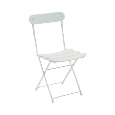 Sedia in acciaio Cassis OASI BY EMU colore bianco