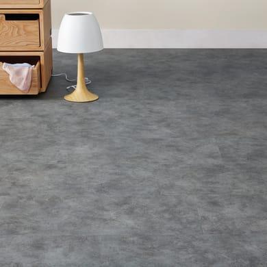 Pavimento pvc adesivo Stone Sp 2 mm grigio / argento