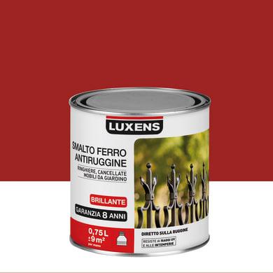Smalto antiruggine LUXENS rosso 0.75 L