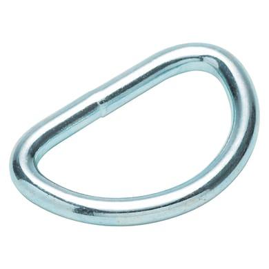Anello a d in acciaio Ø 30 mm