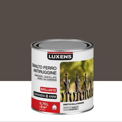 Smalto antiruggine LUXENS marrone cioccolato 0.75 L
