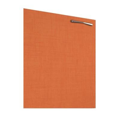 Porta Puzzle L 35 x H 64 cm arancione