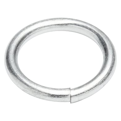 Anello saldato in acciaio Ø 4 mm 4 pezzi