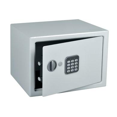 Cassaforte con codice elettronico da fissare L 35 x P 25 x H 25 cm