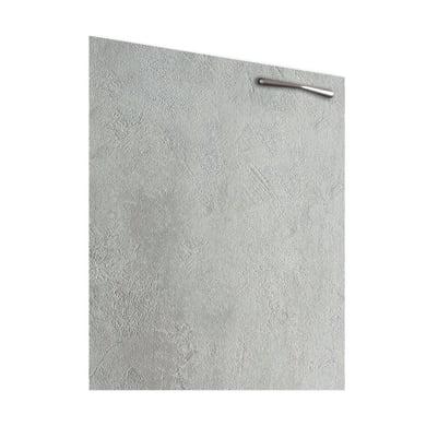 Anta Puzzle L 35 x H 64 cm cemento