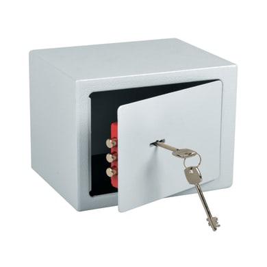 Cassaforte a chiave da mobile con fissaggio L20 x P15 x H15 cm