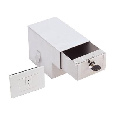 Cassetta di sicurezza SM/2 da murare L11 x P18 x H12.5 cm