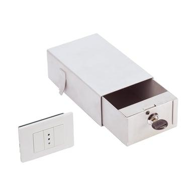 Cassetta di sicurezza TECHNOMAX SM/1 da fissare / da murare L11 x P18 x H6.5 cm