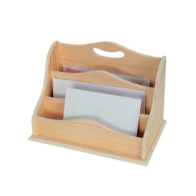 Porta carte in legno