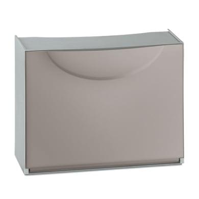 Scarpiera Harmony box 1 anta L 51 x H 39 x Sp 19 cm grigio