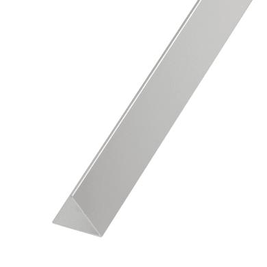 Profilo in alluminio 1 m x 5 cm argento
