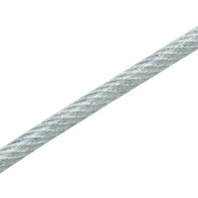 Cavo STANDERS in acciaio zincato Ø 2.9 mm x 40 m