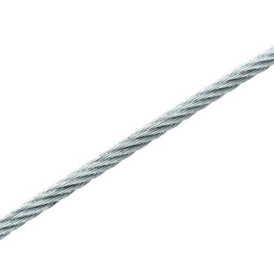Cavo STANDERS in acciaio zincato Ø 2.9 mm x 80 m