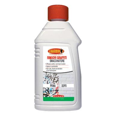 Smacchiatore multisuperficie MAGGIORDOMO rimuovi graffiti 250 ml