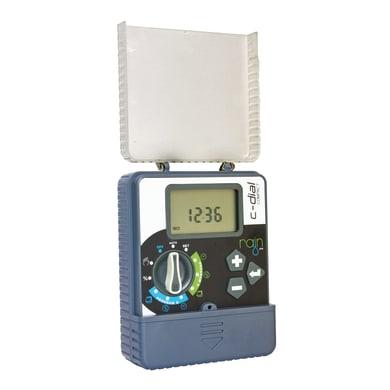 Programmatore elettrovalvole ad alimentazione elettrica RAIN C-DIAL 4 vie