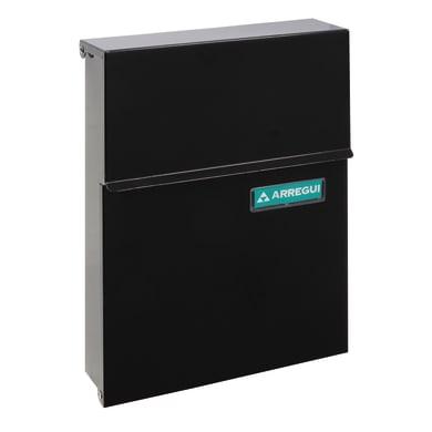Cassetta postale ARREGUI formato Lettera, nero , L 23 x P 0.65 x H 30.5 cm