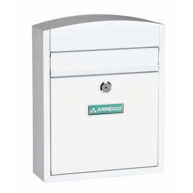 Cassetta postale ARREGUI formato Lettera, bianco , L 24 x P 10 x H 28.5 cm